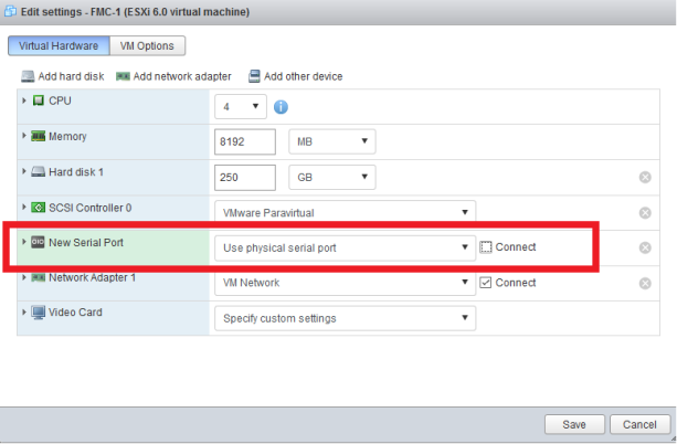 Problems Installing Cisco Firepower Management Console in