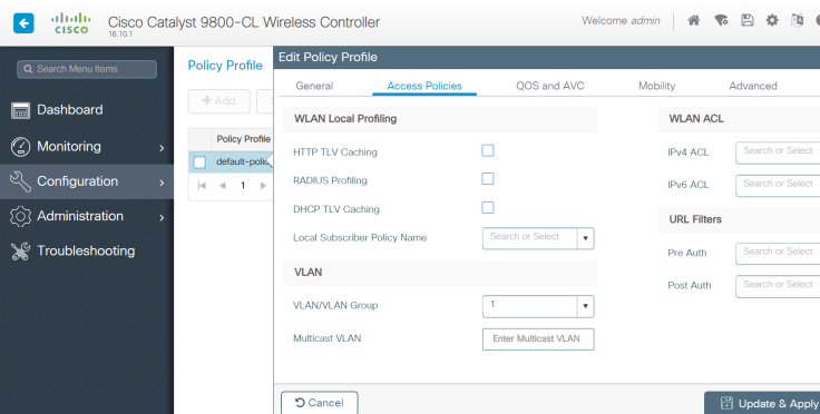 Deploying and Configuring the Cisco 9800 Virtual Wireless